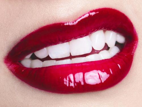 Des lèvres gourmandes